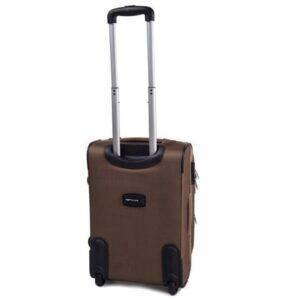Маленький чемодан (S) Wings 1708-2k | тканевый | бежевый | 52х36х23(+5) см | 37/45 л | 3,05 кг