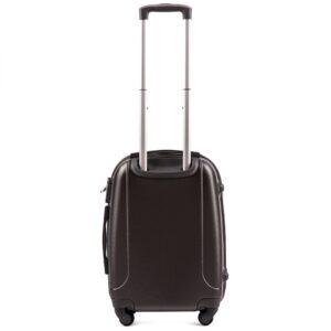 Маленький чемодан (S) Wings K-310 | пластиковый | черный | 55x40x20(+5) см | 35/47 л | 2,6 кг