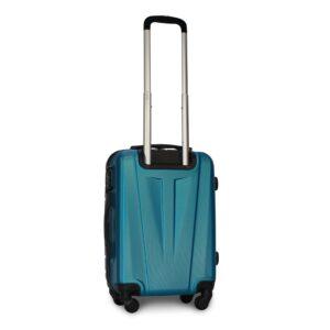 Маленький чемодан (S) Fly 1107 | пластиковый | синий | 55x40x20 см | 35 л | 2,6 кг