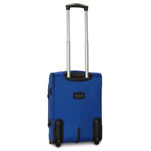 Маленький чемодан (S) Fly 1509-2k   тканевый   электрик   52х36х23(+5) см   37/45 л   3,05 кг