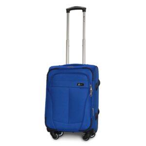 Маленький чемодан (S) Fly 1304-4k   тканевый   электрик   54х37х24(+5) см   37/45 л   3,25 кг