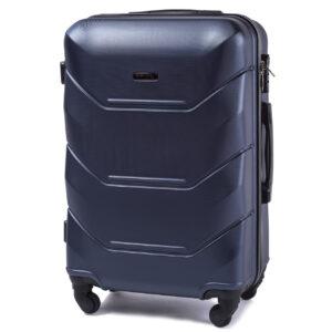 Большой чемодан (L) на 4 колесах | Wings 147 | пластиковый
