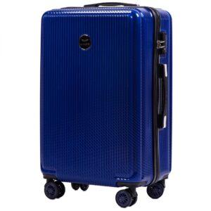 Средний чемодан (M) на 4 колесах | Wings 565 | поликарбонат