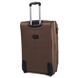 Большой чемодан (L) Wings 1708-2k | тканевый | бежевый | 71x46x31(+5) см | 88/104 л | 4,05 кг