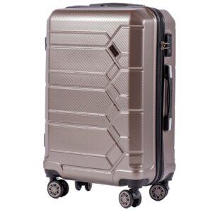 Средний чемодан (M) на 4 колесах | Wings 185 | поликарбонат