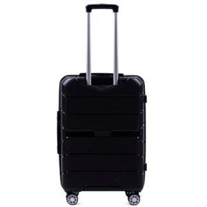 Средний чемодан (M) Wings PP05 | полипропилен | черный | 64x44x26 см | 62 л | 3,15 кг