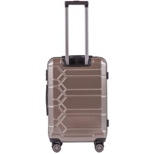 Средний чемодан (M) Wings 185   поликарбонат   бронзовый   64x44x26 см   62 л   3,15 кг