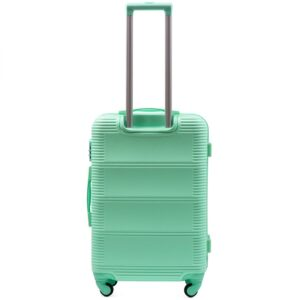 Средний чемодан (M) Wings K-203   пластиковый   ментоловый   64x44x26 см   62 л   3,15 кг