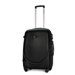 Средний чемодан (M) Fly 310-F | пластиковый | черный | 64x44x26 см | 62 л | 3,15 кг