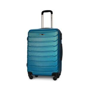 Средний чемодан (M) Fly 1107 | пластиковый | синий | 64x44x26 см | 62 л | 3,15 кг