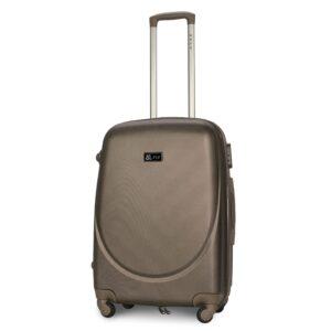 Средний чемодан (M) Fly 310-F | пластиковый | шампань | 64x44x26 см | 62 л | 3,15 кг
