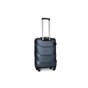 Средний чемодан (M) Fly 147 | пластиковый | темно-синий | 64x44x26 см | 62 л | 3,15 кг