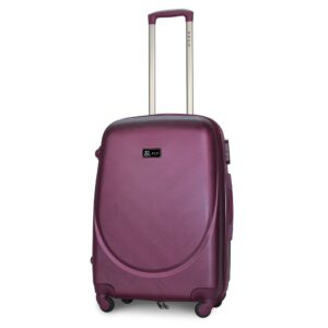 Средний чемодан (M) Fly 310-F | пластиковый | темно-фиолетовый | 64x44x26 см | 62 л | 3,15 кг