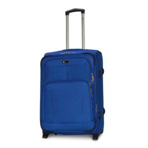 Средний чемодан (M) Fly 1509-2k | тканевый | электрик | 62x41x27(+5) см | 64/76 л | 3,55 кг