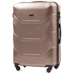 Большой чемодан (L) на 4 колесах   Wings 147   пластиковый