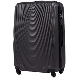 Большой чемодан (L) Wings 304 | пластиковый