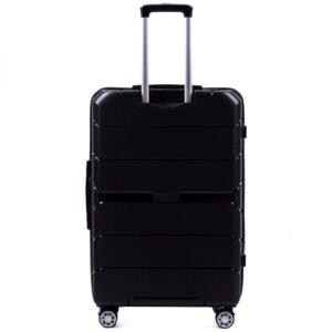 Большой чемодан (L) Wings PP05 | полипропилен | черный | 74x50x29 см | 86 л | 3,95 кг
