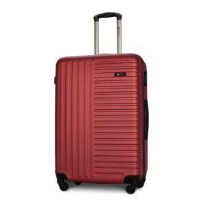 Большой чемодан (L) Fly 1096 | пластиковый | бордовый | 74x50x29 см | 86 л | 3,95 кг