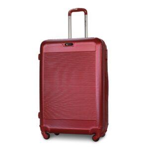Большой чемодан (L) Fly 1093-F | пластиковый | бордовый | 74x50x29 см | 86 л | 3,95 кг