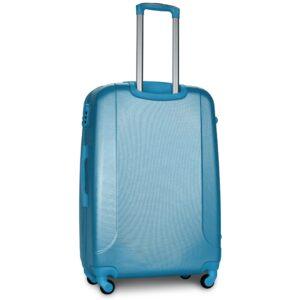 Большой чемодан (L) Fly 310-F | пластиковый | серебристо-синий | 74x50x29 см | 86 л | 3,95 кг