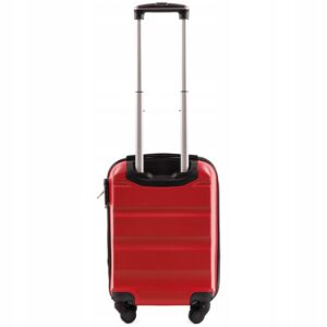 Мини чемодан (XS) Wings AT01 | пластиковый | красный | 50x32x18 см | 27 л | 2,4 кг