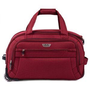 Маленькая сумка на колесах (S) Wings 1055   бордовый   54x32x29 см   50 л   2,6 кг