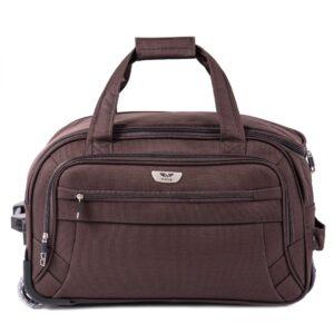 Маленькая сумка на колесах (S) Wings 1055   коричневый   54x32x29 см   50 л   2,6 кг