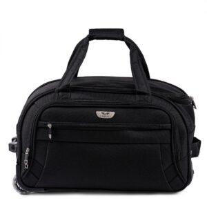 Маленькая сумка на колесах (S) Wings 1055   черный   54x32x29 см   50 л   2,6 кг