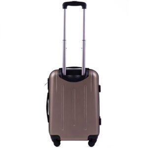 Маленький чемодан (S) Wings 304 | пластиковый