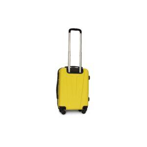 Маленький чемодан (S) Fly 1107 | пластиковый | желтый | 55x40x20 см | 35 л | 2,6 кг