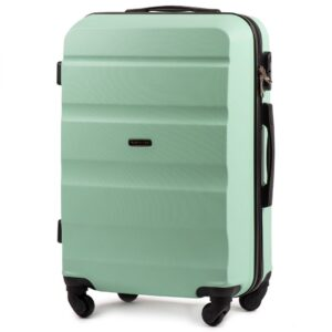 Средний чемодан (M) Wings AT01   пластиковый   ментоловый   64x44x26 см   62 л   3,15 кг