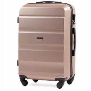 Средний чемодан (M) Wings AT01 | пластиковый