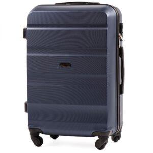 Средний чемодан (M) Wings AT01   пластиковый   темно-синий   64x44x26 см   62 л   3,15 кг