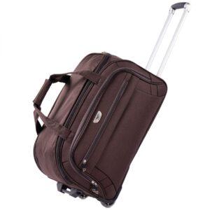 Средняя сумка на колесах (M) Wings 1055   коричневый   61x35x32 см   63 л   3 кг