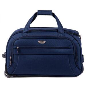 Средняя сумка на колесах (M) Wings 1055   темно-синий   61x35x32 см   63 л   3 кг