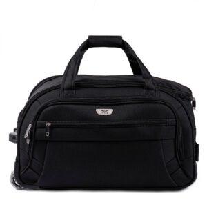 Средняя сумка на колесах (M) Wings 1055   черный   61x35x32 см   63 л   3 кг