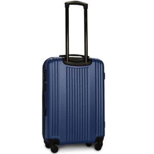 Средний чемодан (M) Fly 614 | пластиковый | темно-синий | 64x44x26 см | 62 л | 3,15 кг