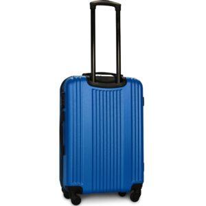Средний чемодан (M) Fly 614 | пластиковый | морская-волна | 64x44x26 см | 62 л | 3,15 кг