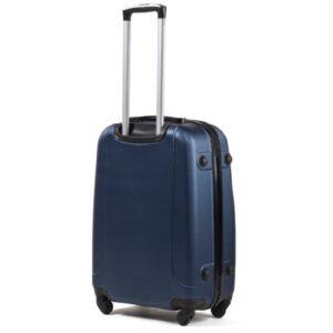 Большой чемодан (L) Wings 310 | пластиковый | темно-синий | 74x50x29 см | 86 л | 3,95 кг