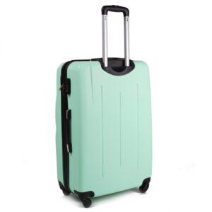 Большой чемодан (L) на 4 колесах | Wings 304 | пластиковый