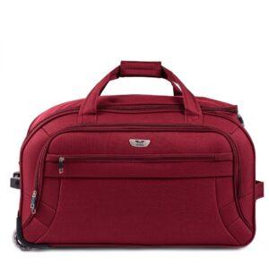 Большая сумка на колесах (L) Wings 1055 | бордовый | 68x40x35 см | 95 л | 3,4 кг