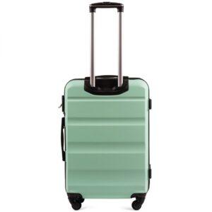 Большой чемодан (L) Wings AT01 | пластиковый | ментоловый | 74x50x29 см | 86 л | 3,95 кг