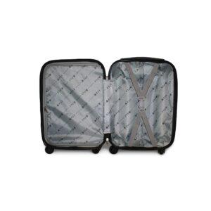 Средний чемодан (M) на 4 колесах | Fly 1107 | пластиковый