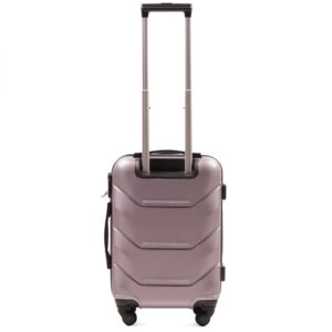 Маленький чемодан (S) на 4 колесах | Wings 147 | пластиковый | для ручной клади
