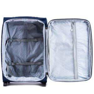Средний чемодан (M) Wings 6802-2k | тканевый
