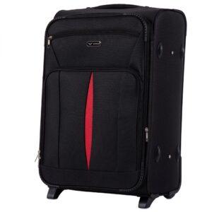 Средний чемодан (M) Wings 1601-2k | тканевый