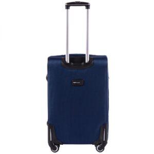 Средний чемодан (M) на 4 колесах | Wings 214-4k | тканевый