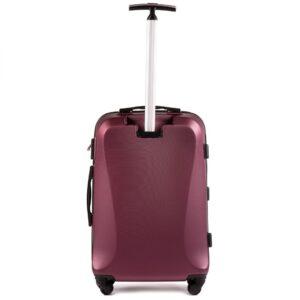 Средний чемодан (M) Wings 518 | пластиковый