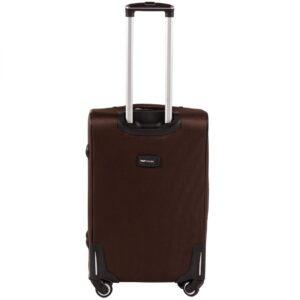 Средний чемодан (M) Wings 1609-4k | тканевый