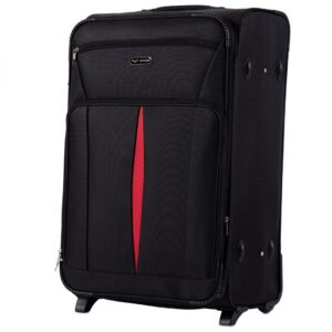 Большой чемодан (L) Wings 1601-2k | тканевый
